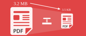 How to compress sales PDF size in Magento 2